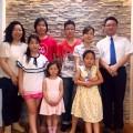 6月7日礼拝に千葉から奈良さんファミリーが